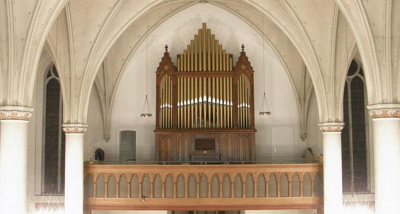 Die Steere&Turner/Schulte - Orgel.