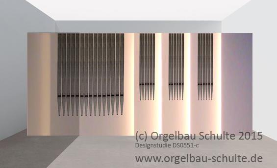 Designstudie (c) Orgelbau Schulte